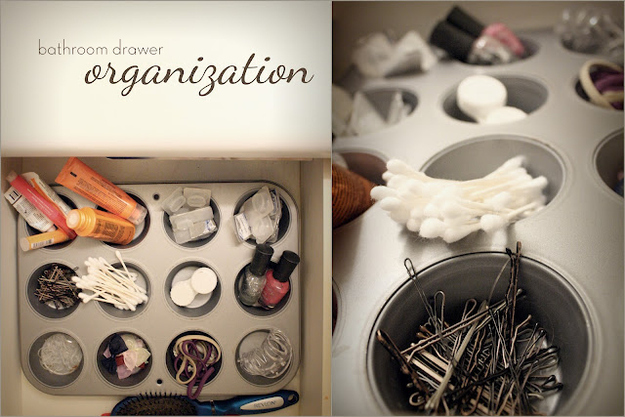 Drawer organisation idea